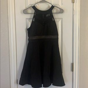 Black homecoming/formal dress